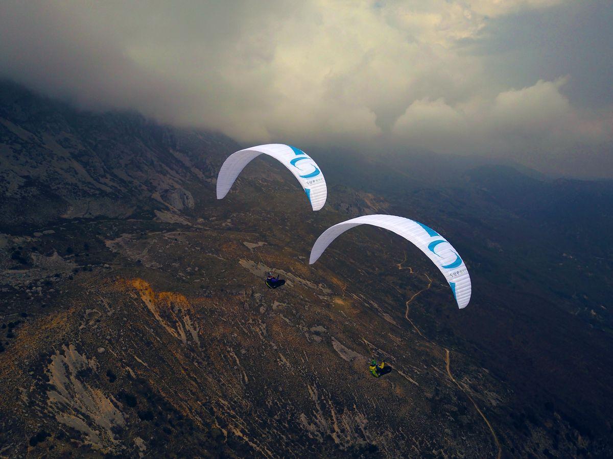 SupAir Wild - два параплана SupAir Wild