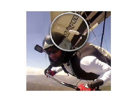 Flymaster TAS - flymaster TAS HG in air