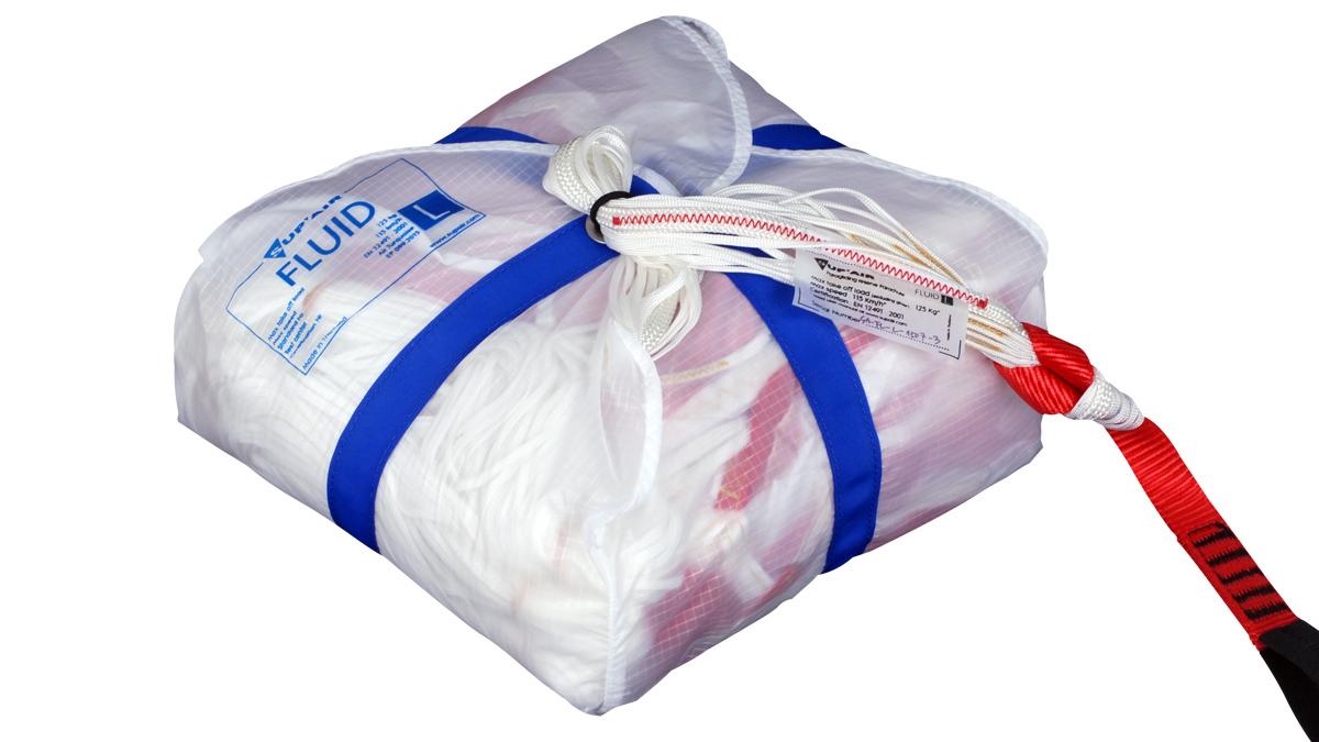 SupAir Fluid - SupAir Fluid спасательный парашют упакованный
