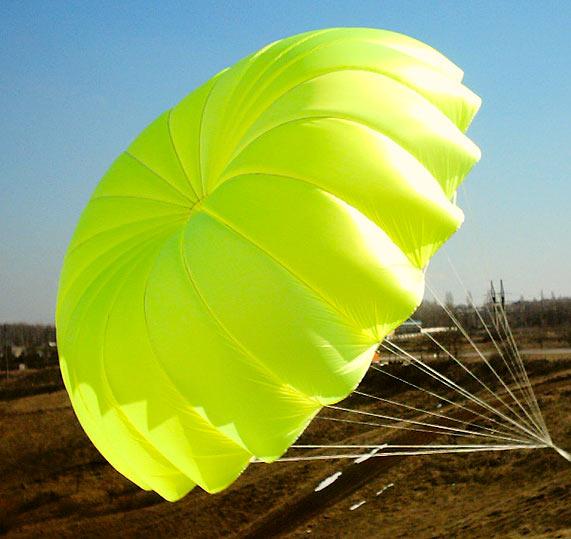 Облегченный парашют от Скай Кантри