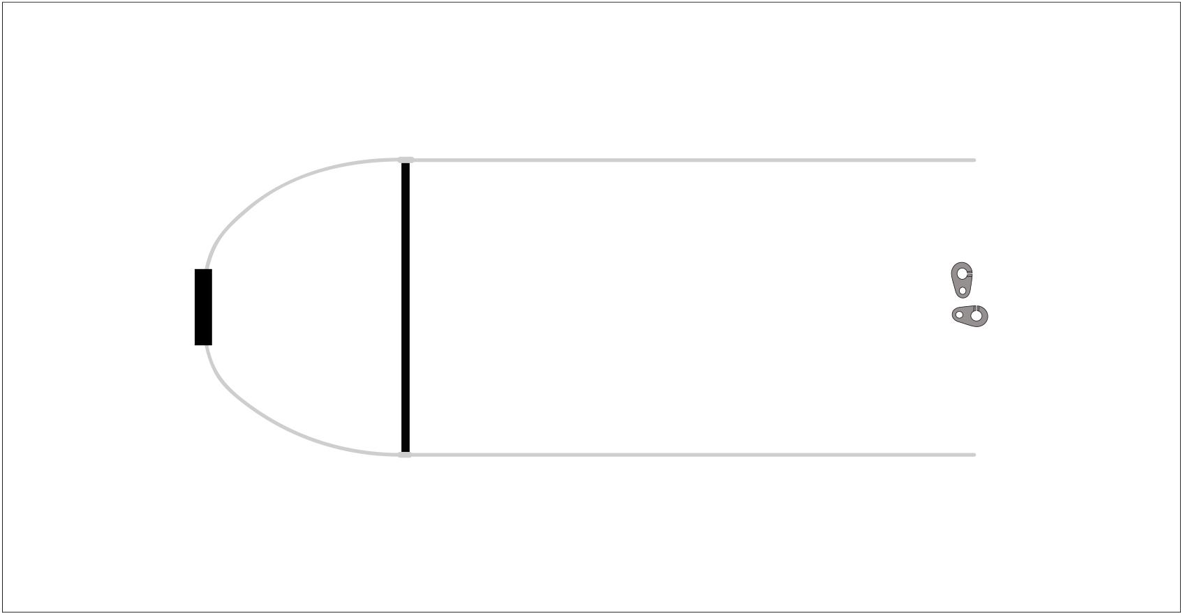 Двухступенчатый легкий акселератор для открытых подвесок
