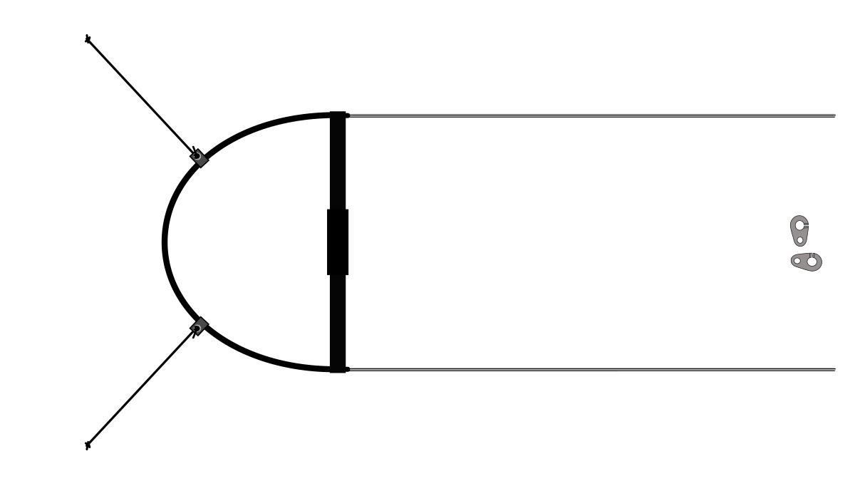 Двухступенчатый акселератор для подвесок коконов.