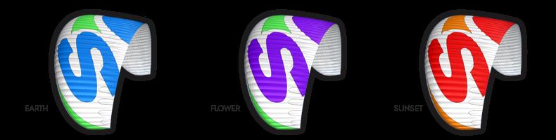 цвета параплана SupAir Leaf (СупЭир Лииф)