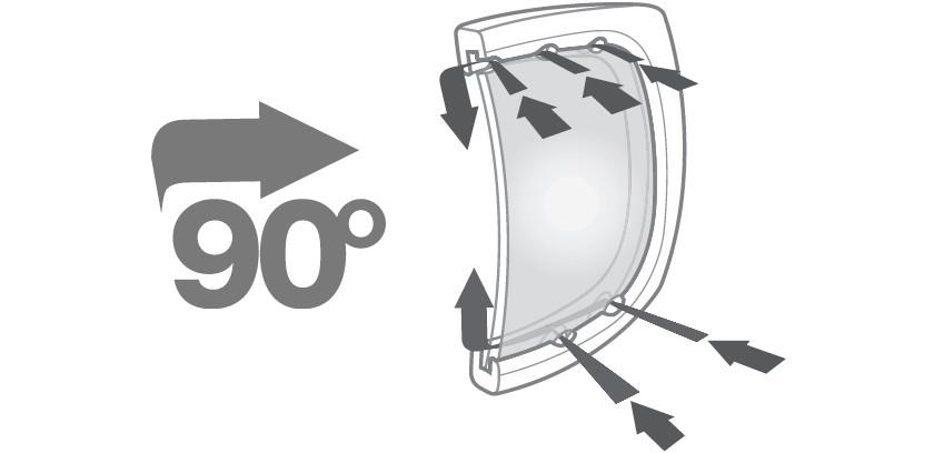 перенаправление воздушного потока в очках gloryfy