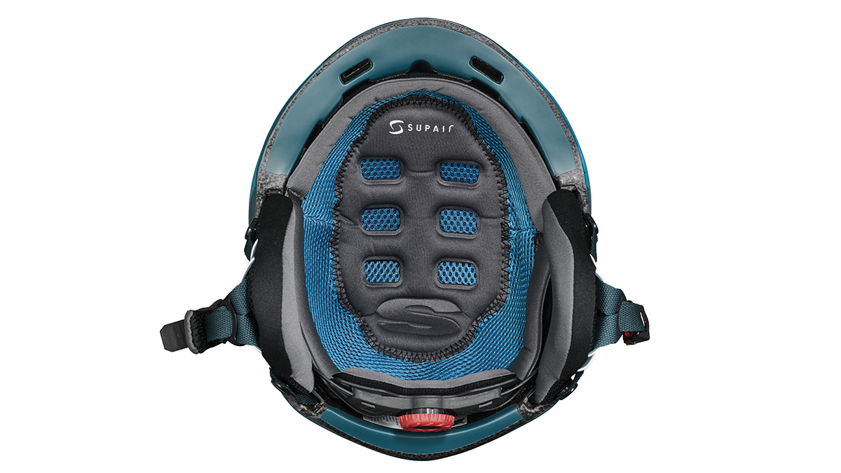 SupAir Pilot - Шлем SupAir пилот цвет Dark blue. Вид сбоку. Набивка