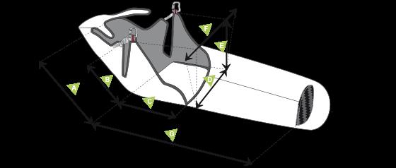 Размеры СупЭир Страйк (SupAir Strike)