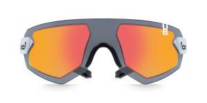 Купить Спортивные, неломающиеся очки GloryFy G9 XTR HELIOZ STRATOS RED вид спереди