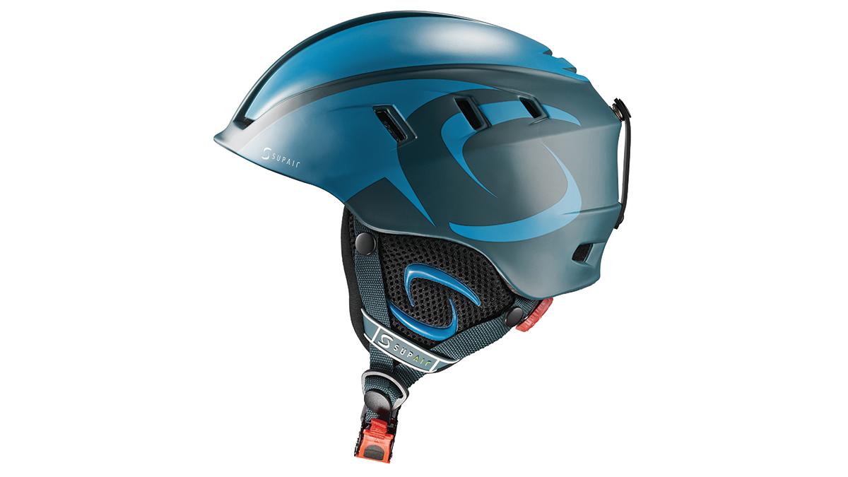 SupAir Pilot - Шлем SupAir pilot цвет Dark blue. Вид сбоку