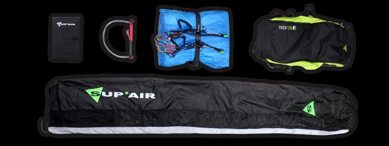 Комплект поставки параплана SupAir Leaf