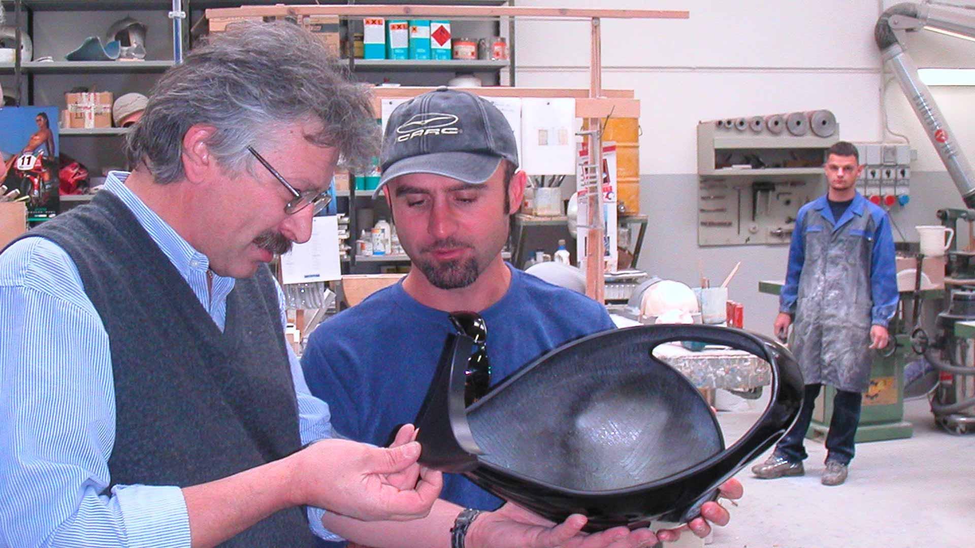 Дизайнер шлемов Икаро