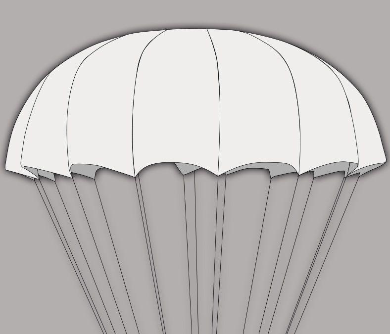 SupAir Shine - СупЭир Шайн легкий круглый парашют