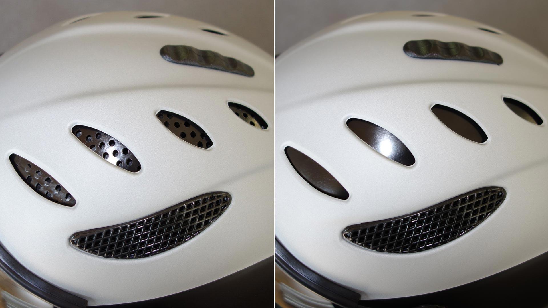 Вентялиция шлема Icaro Nevo