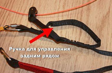 Axis Vega 5 ручка управления задним рядом