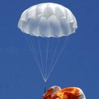 Axis Happy - Спасательный парашют Axis Happy в воздухе