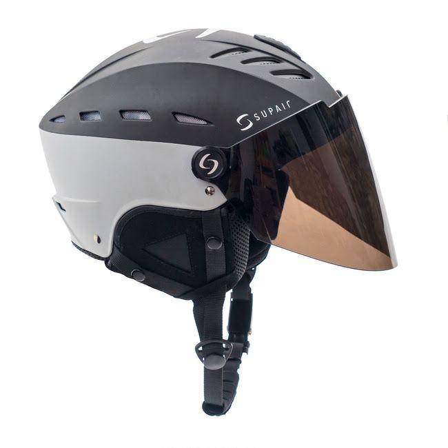 SupairVisor - Шлем с защитным стеклом SUPAIRVISOR BLACK GREY