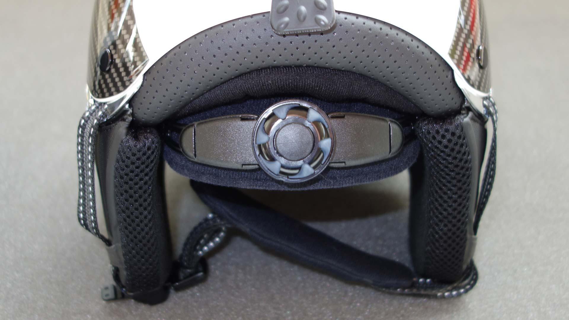 Регулировка размера шлема Icaro Nevo