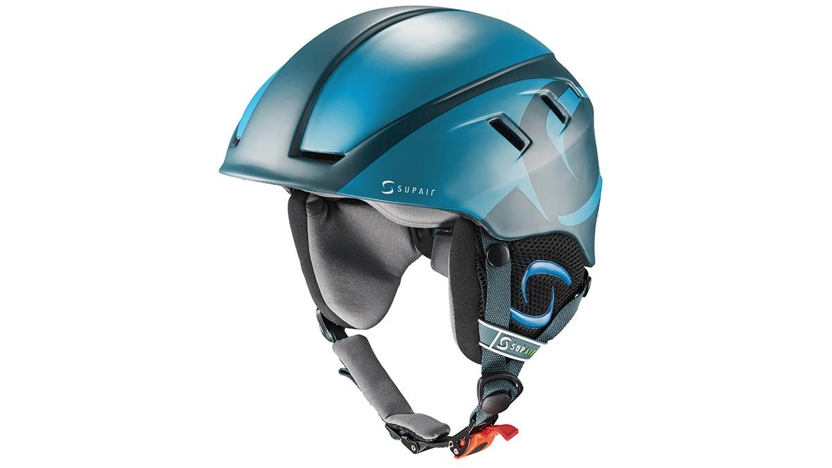SupAir Pilot - Шлем SupAir пилот цвет Darl blue. Вид спереди