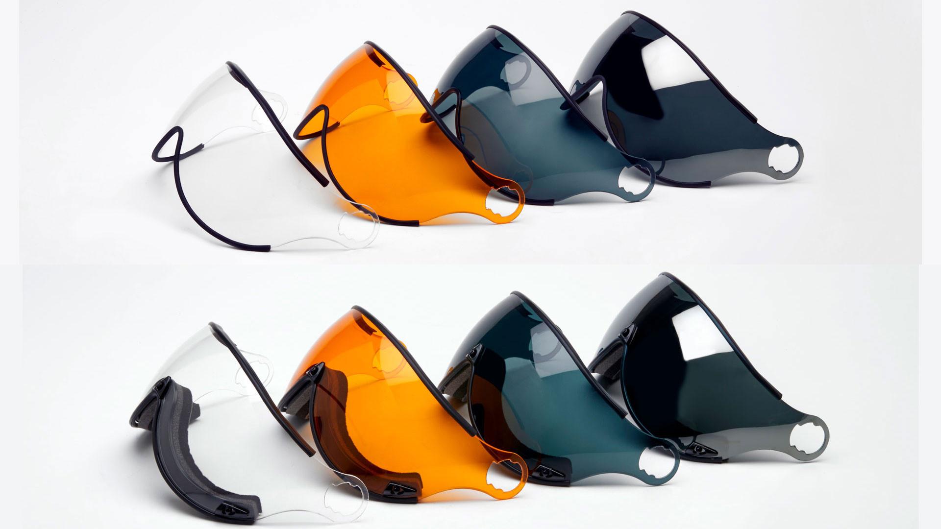 Защитные стекла для шлема Icaro Nevo