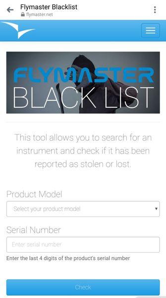 Flymaster Blacklist Logo