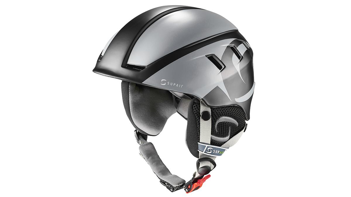SupAir Pilot - Шлем SupAir pilot цвет Black. Вид спереди