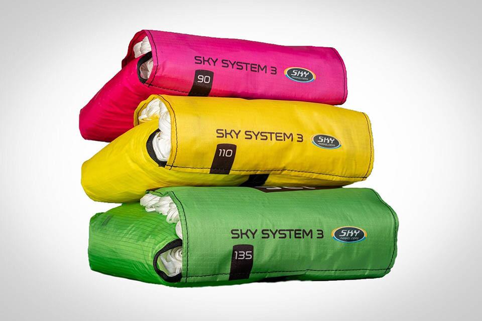 Sky Paragliders SKY SYSTEM III - Запасной парашют Sky Paragliders SKY SYSTEM III цветные камеры