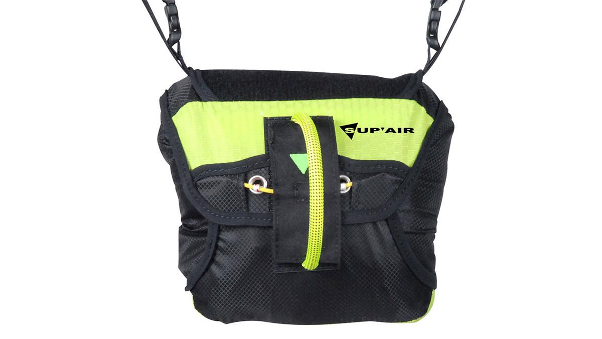 Нагрудный контейнер для спасательного парашюта SupAir Olys - Нагрудный контейнер под спасательный парашют. Вид спереди