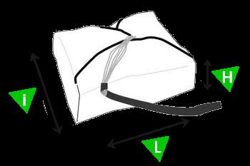 Гарабиты уложенного парашюта Supair Флуид