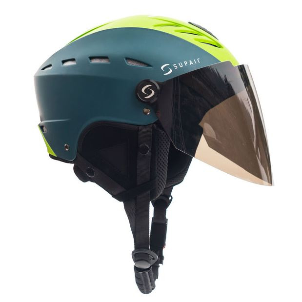 SupairVisor - Шлем с защитным стеклом SUPAIRVISOR PETROL GREEN