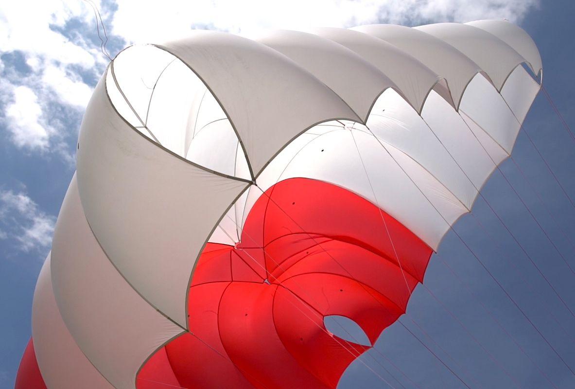 SupAir Fluid Light - Легкий квадратный спасательный парашют SupAir Fluid Light