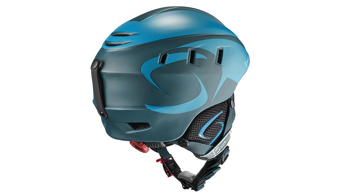 SupAir Pilot - Шлем SupAir pilot цвет Dark blue. Вид сзади.